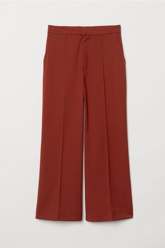 d7ac682d321 Flared trousers - Rust red - Ladies
