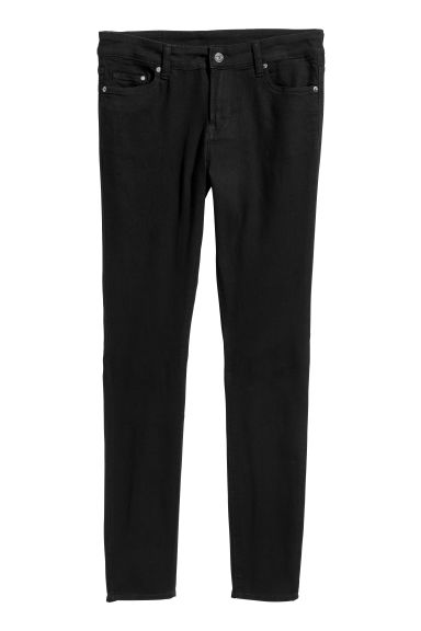 H&M+ Skinny Regular Jeans - Black -  | H&M