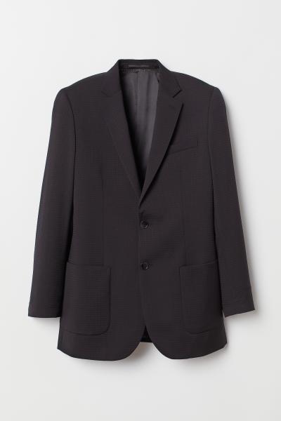 H&M - Blazer en laine Relaxed Fit - 1