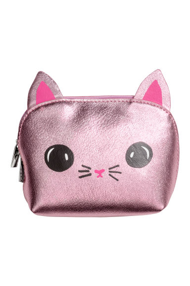 Mini Pouch Bag - Pink/cat - Ladies | H&M CA