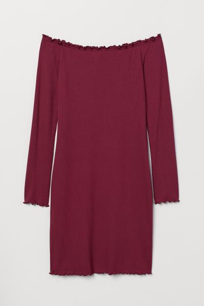 H&M - Off-the-shoulder dress - 5