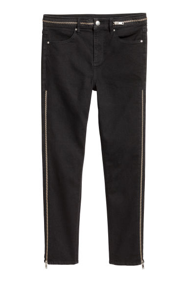 Super Skinny High Jeans - Black -  | H&M