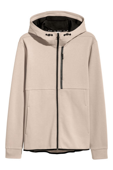 Hooded sports top - Mole - Men | H&M GB