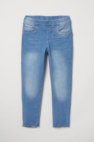 Denim leggings - Denim blue - Kids | H&M