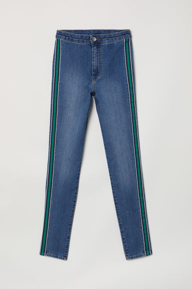 Super Skinny Ankle Jeans - Blau/Grün - Ladies | H&M AT