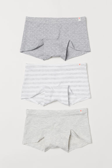 3-pack boxer briefs - White/Striped - Kids | H&M CN
