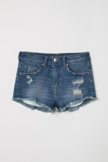 Korte denim shortModel
