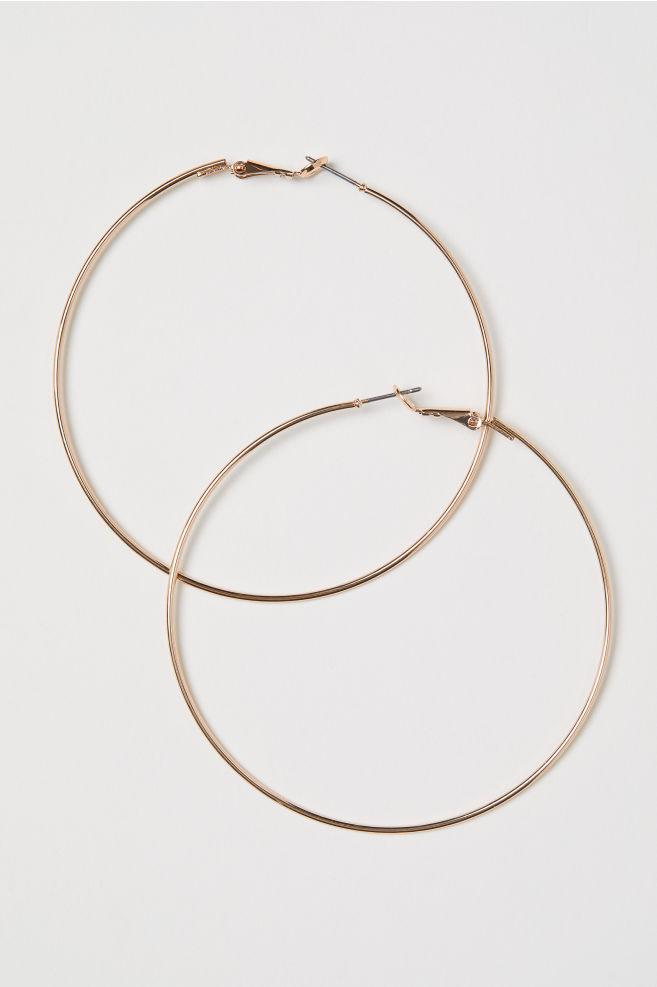 Stora örhängen - Guld - DAM | H&M SE 1