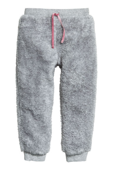 Pile joggers - Light grey - Kids | H&M GB