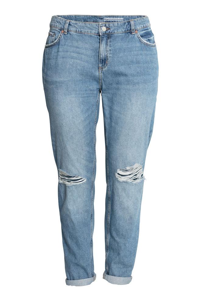 2c219664fdb H&M+ Boyfriend Jeans - Светлосин - ЖЕНИ | H&M ...