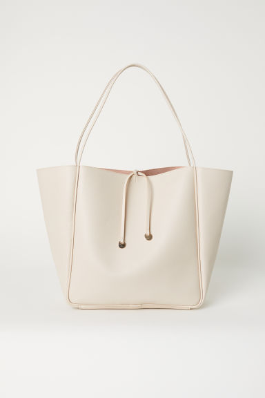 Shopper - Lichtbeige - DAMES | H&M BE