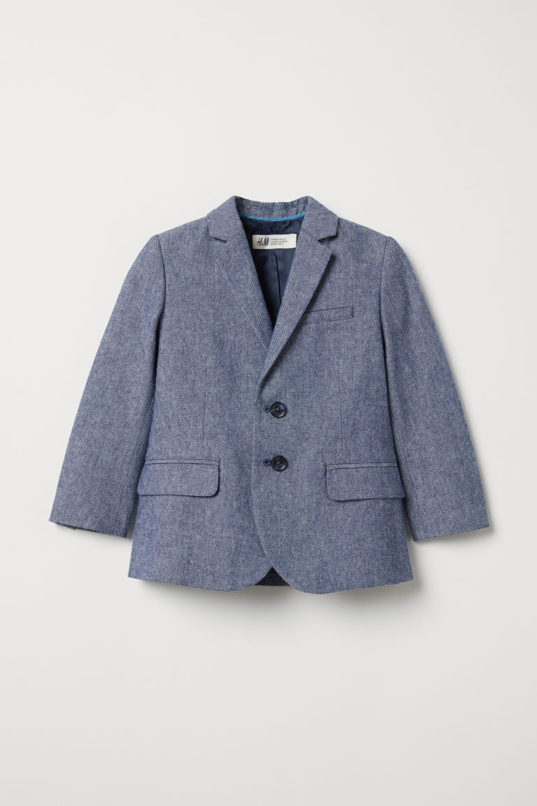 Jacket - Dark blue marl - Kids | H&M