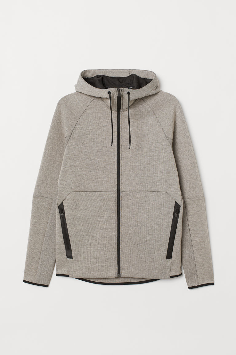 Hooded jacket - Mole -  | H&M