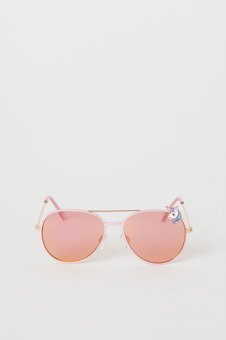 Sunglasses - Light pink/Unicorn - Kids | H&M