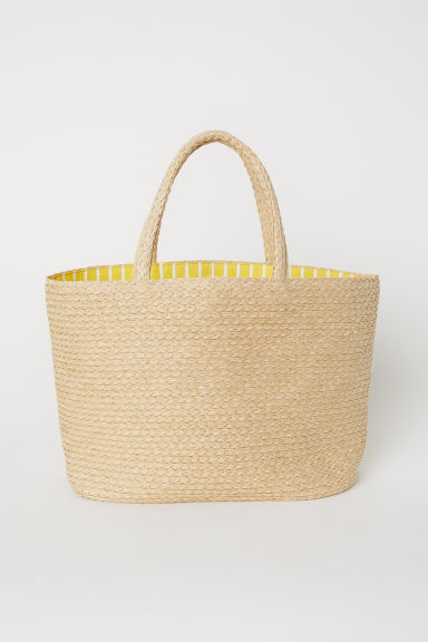 Straw bag - Natural - Ladies | H&M