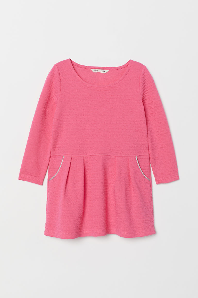 Jersey dress - Neon pink - Kids | H&M