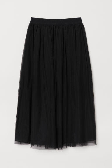 Tulle skirt - Black - Ladies | H&M CN