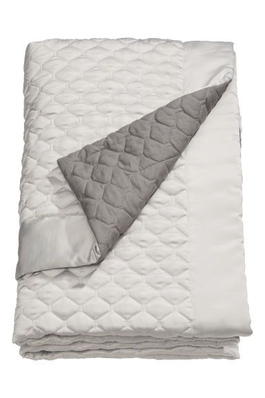 Quilted bedspread single - Beige/Grey - Home All | H&M CN