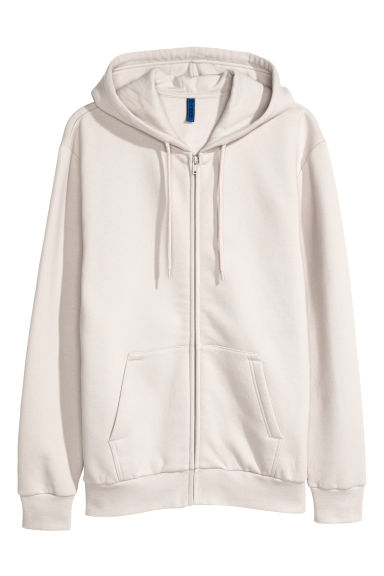 Hooded jacket - Light beige -  | H&M