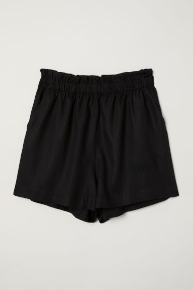 Shorts ampi - Nero - DONNA | H&M IT