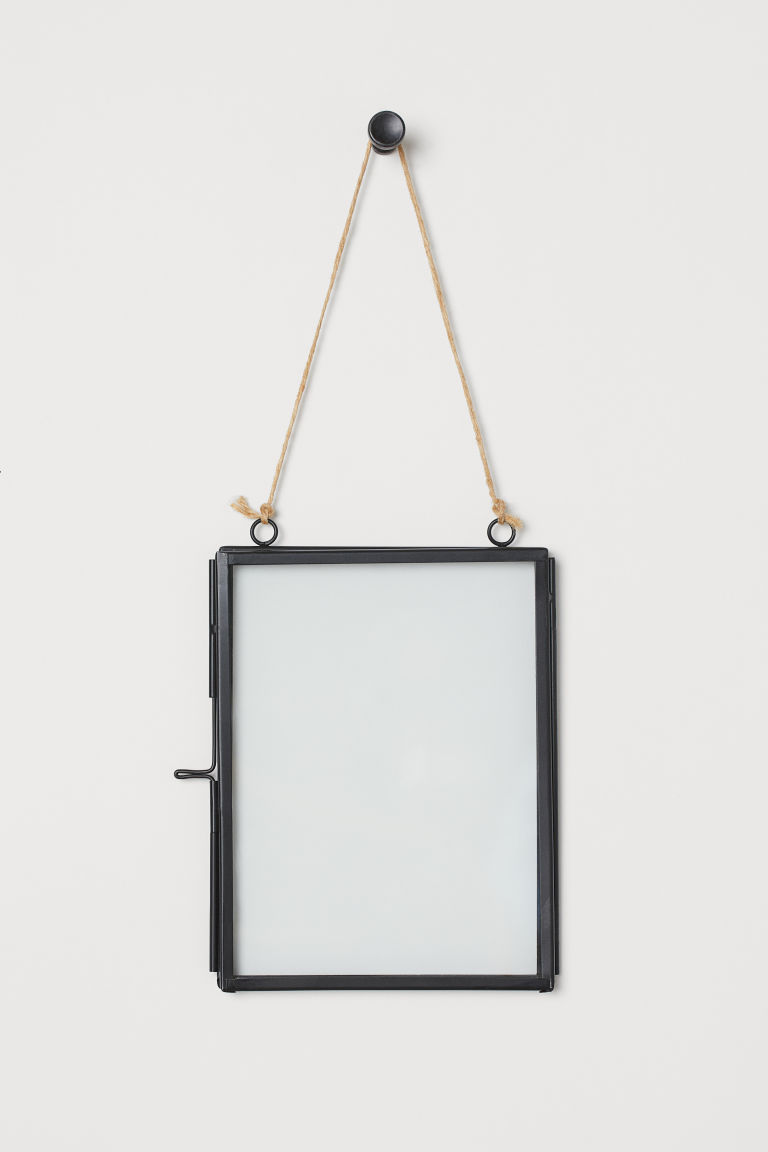Metal Photo Frame - Black - Home All | H&M CA