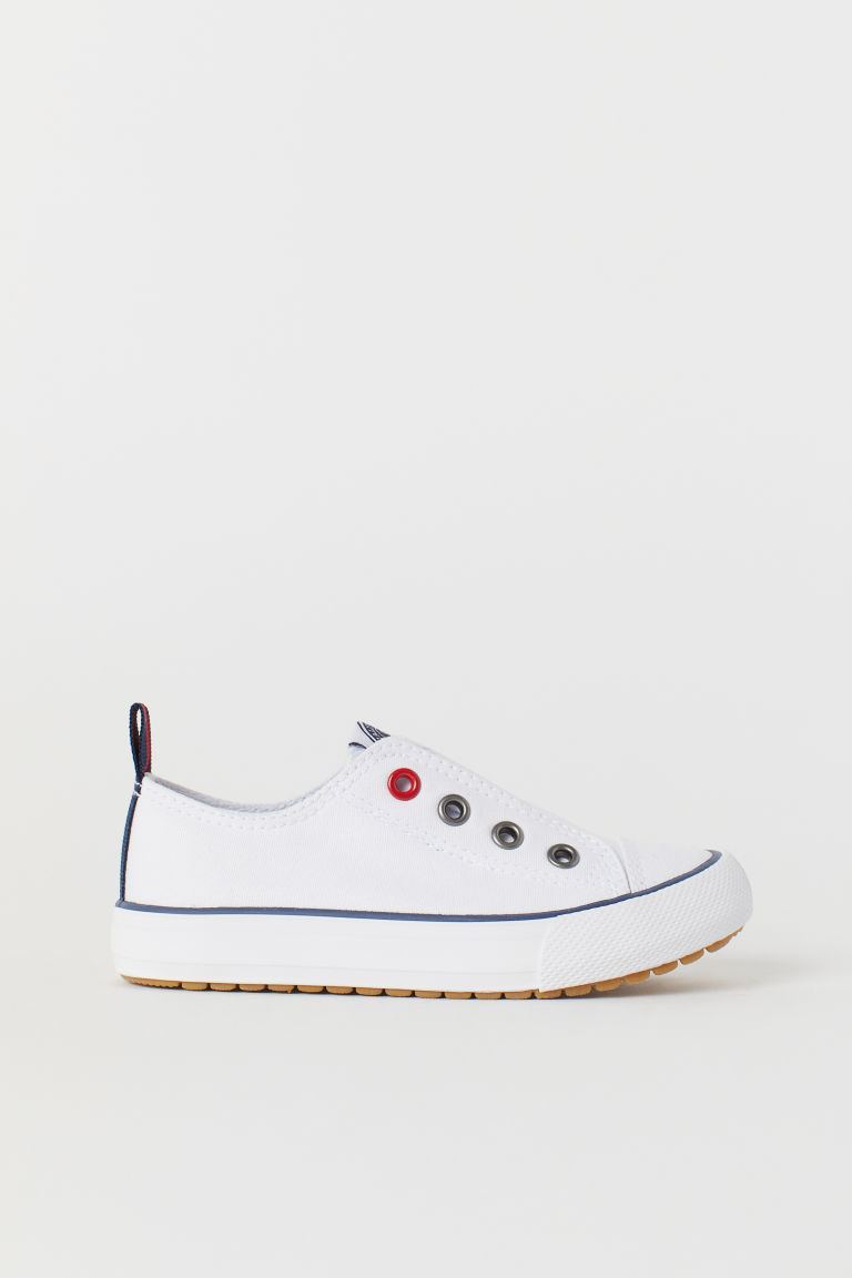 Slip-on trainers - White - Kids | H&M