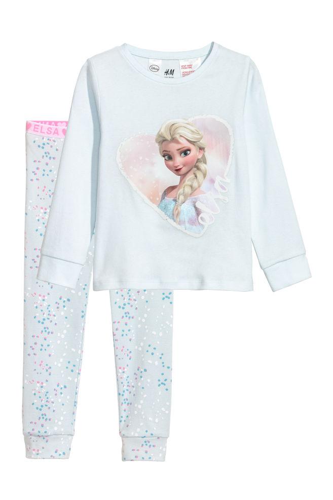 65faa2cfa Jersey pyjamas - Light blue Frozen - Kids
