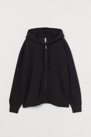 H&M+ Zip-through hoodie