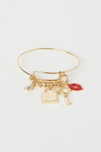 H&M - Bangle with pendants - 1