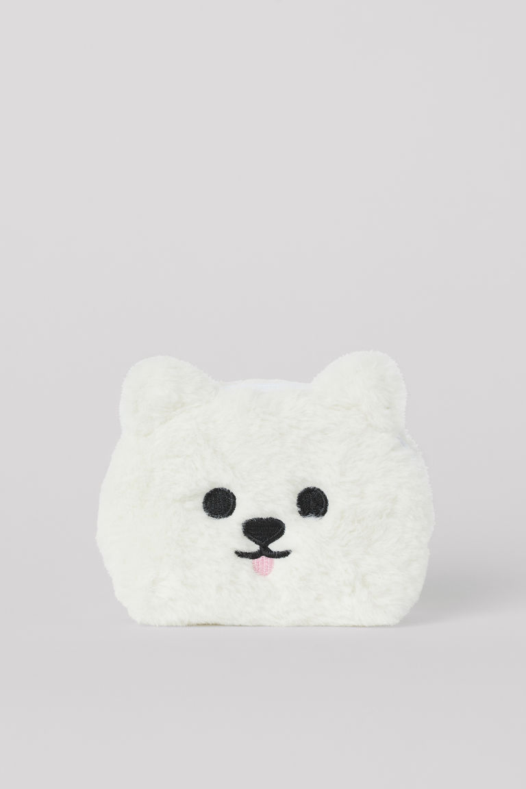 Mini Pouch Bag - White/dog -  | H&M CA