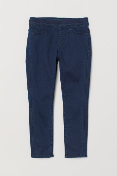 Denim leggings - Dark blue -  | H&M IE