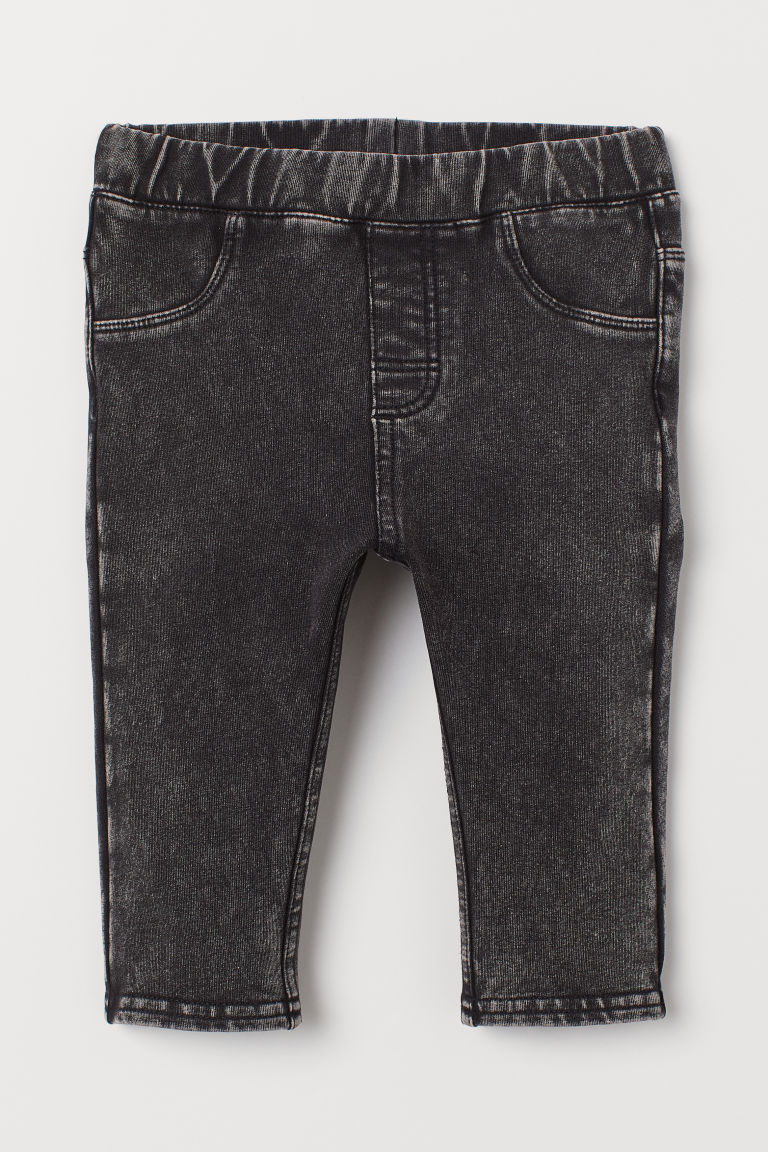 Leggings in denim - Nero - BAMBINO | H&M IT