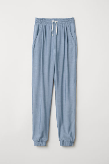 Pull-on trousers - Light blue - Kids | H&M