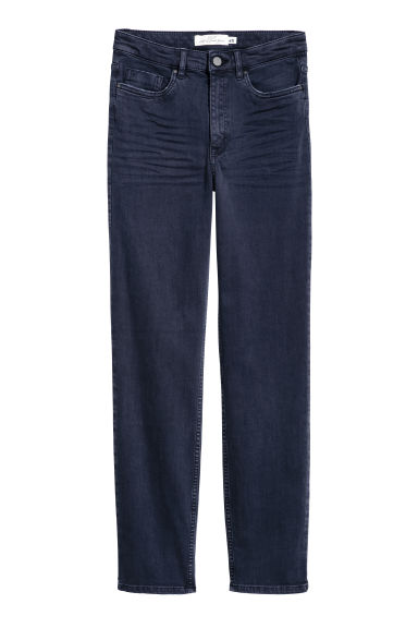 Stretch trousers - Dark blue - Ladies | H&M GB