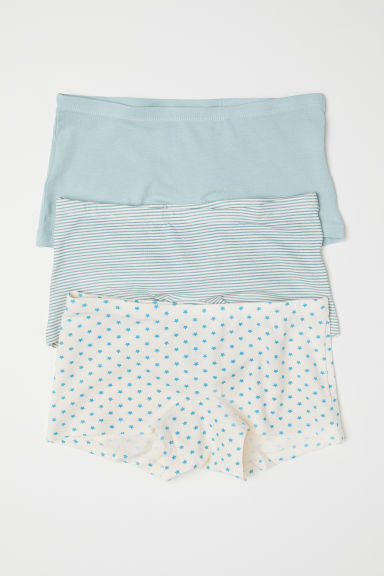 3-pack boxer briefs - Light turquoise/Stars - Kids | H&M