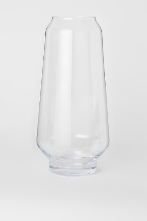 Large glass vaseModel