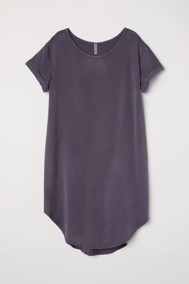 Short dress - Dark grey - Ladies | H&M