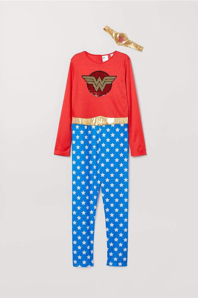 9d297f6f26ca99 Costume da supereroe - Rosso/Wonder Woman - BAMBINO | H&M ...