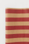 Red/beige striped