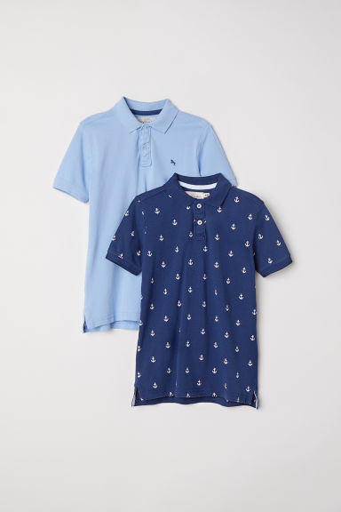 Polo, 2 pz - Blu scuro/ancore -  | H&M IT