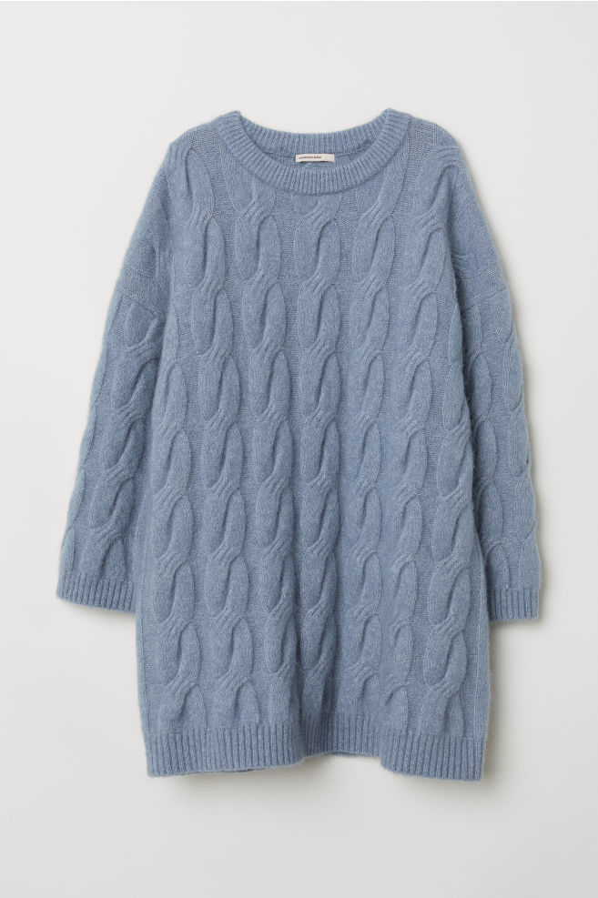 92f5ae10a20 Cable-knit mohair-blend jumper