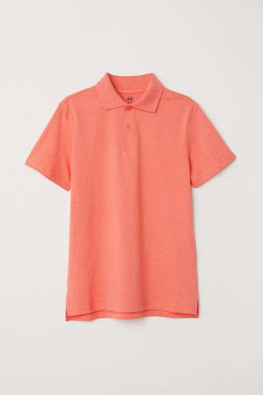 Polo shirt - Orange -  | H&M