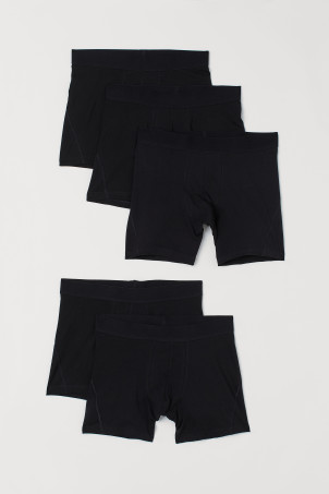 5 boxershorts - Mid trunk