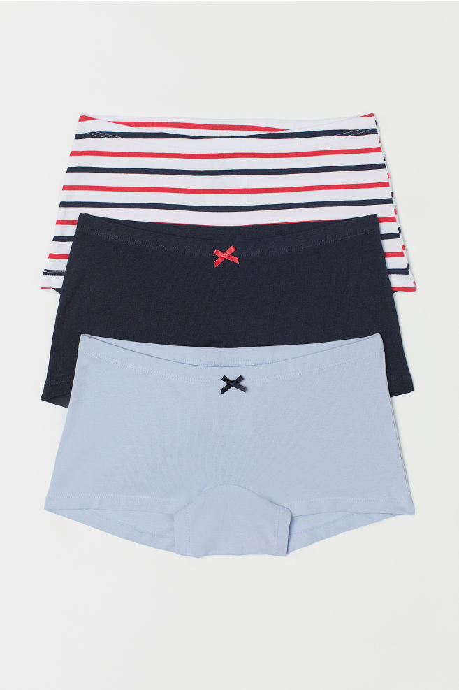 1b042104329e 3-pack boxer briefs - Blue/Red striped - Kids | H&M ...