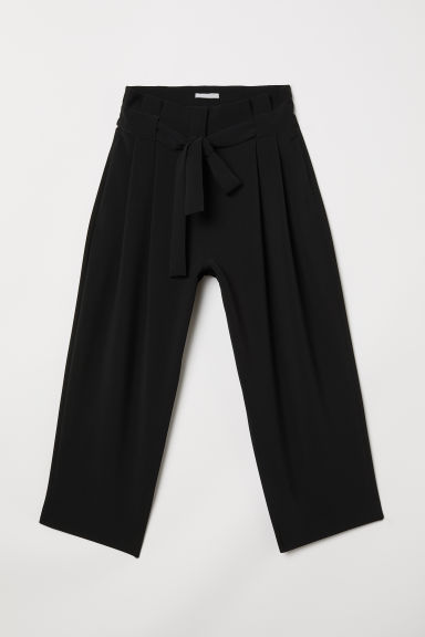 Pantaloni ampi - Nero -  | H&M IT