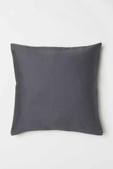 Copricuscino jacquard - Grigio scuro - HOME | H&M IT