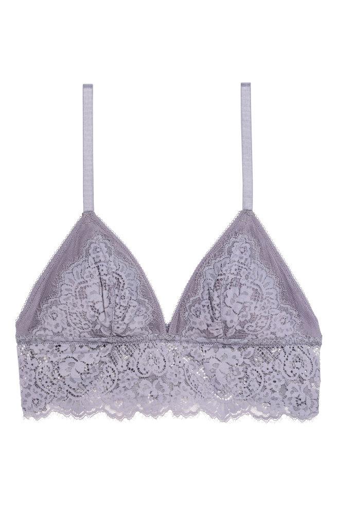 922a2f0bd7 Lace bralette - Heather purple - Ladies