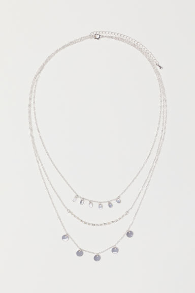 Multi-strand Necklace - Silver-colored - Ladies | H&M US