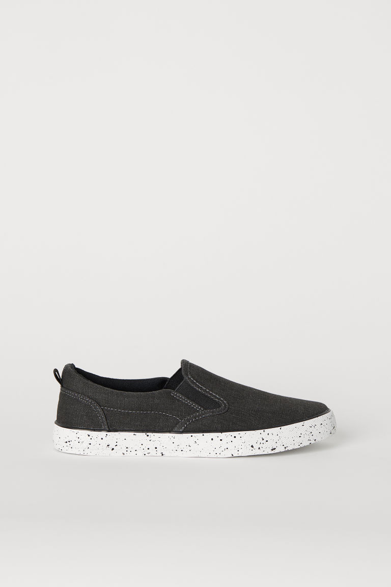 Slip-on trainers - Dark grey -  | H&M