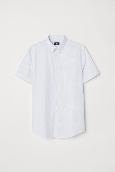 H&M - Camisa Slim fit Easy iron - 1